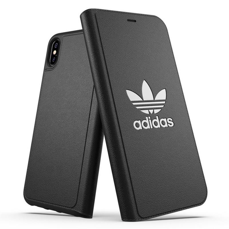 Adidas Booklet Case iPhone Xs Max zwart 03