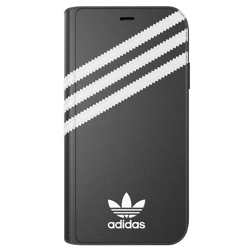 Adidas Originals Booklet Case iPhone XR Zwart Grijs 03