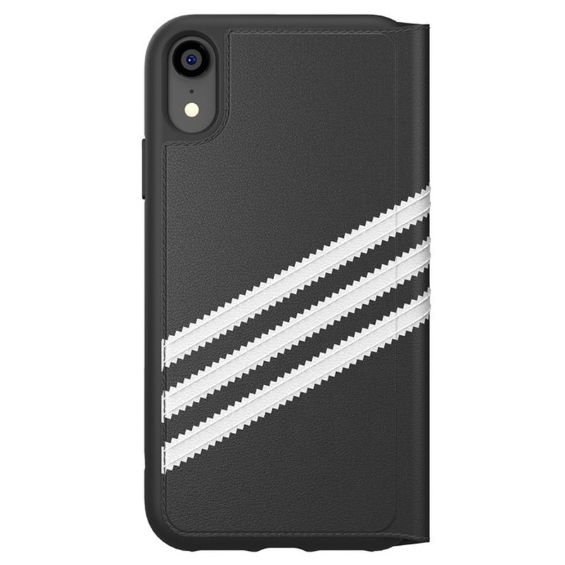 Adidas Originals Booklet Case iPhone XR Zwart Grijs 02