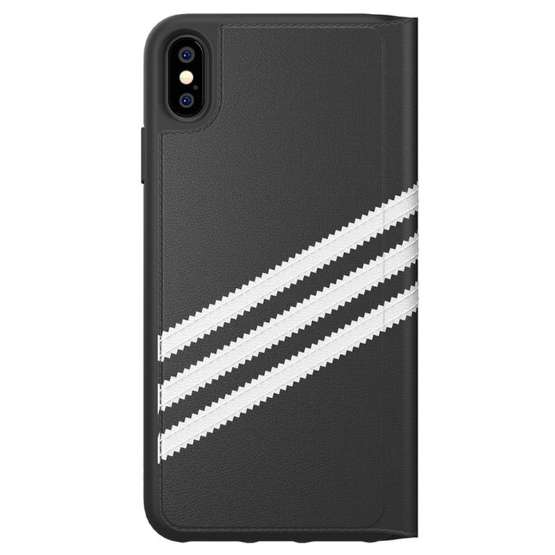 Adidas Booklet Case iPhone Xs Max zwart/wit 02