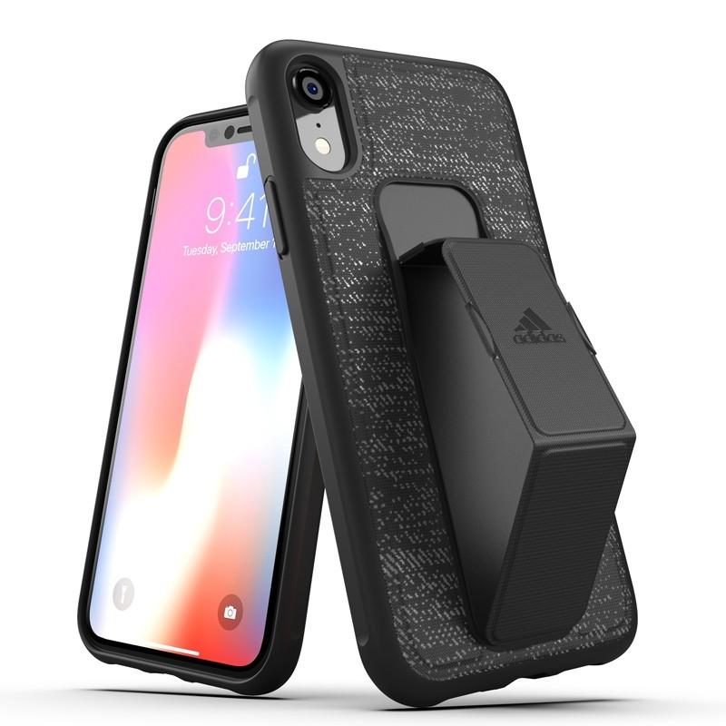 Adidas Grip Case iPhone Xr zwart 03