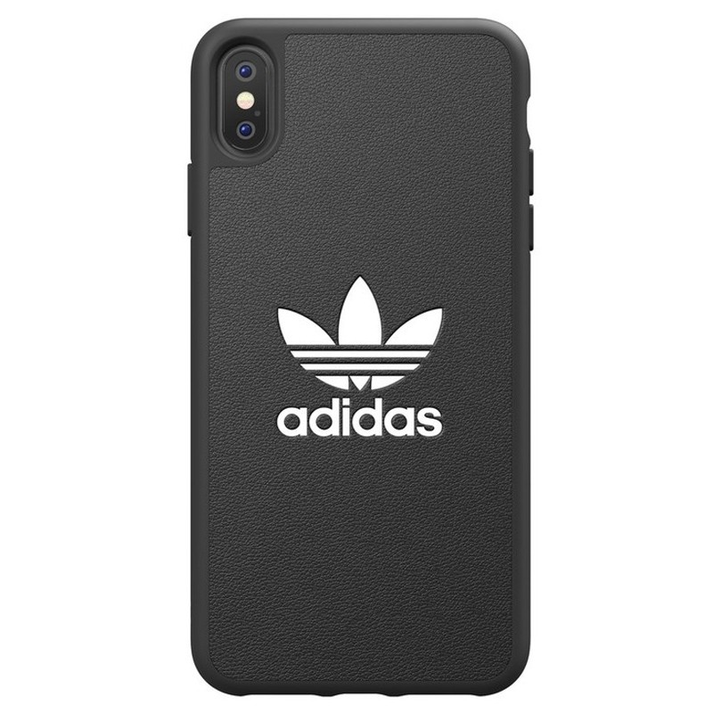 Adidas Moulded Case iPhone Xs Max zwart 01
