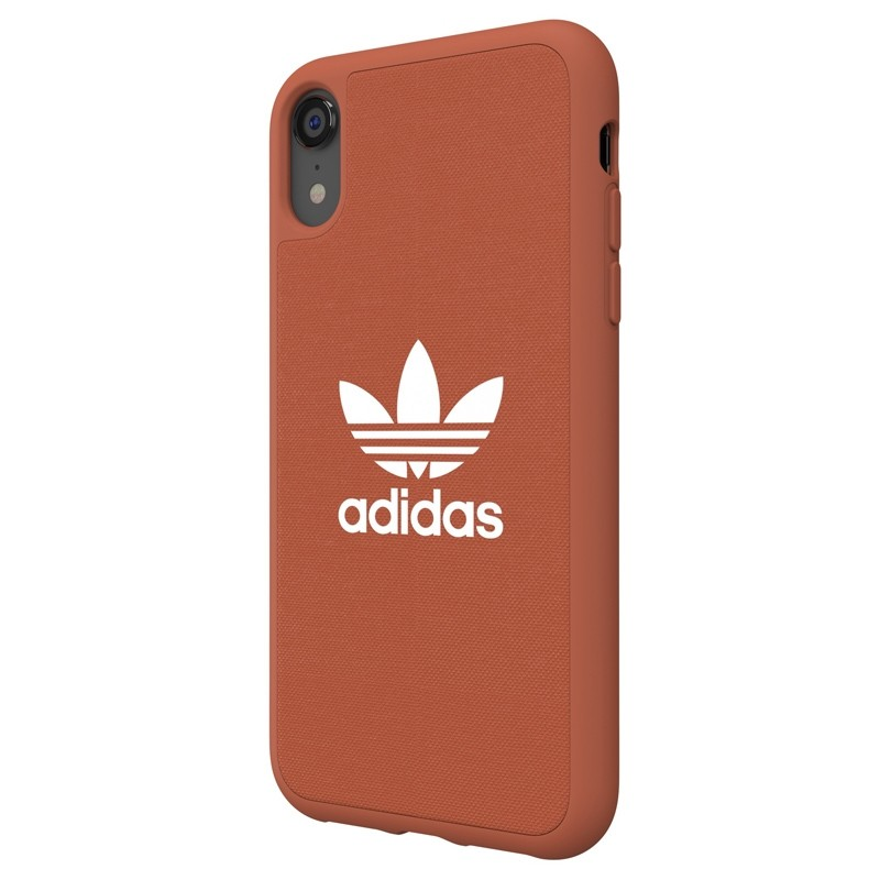 Adidas Moulded Case Canvas iPhone Xr oranje 04