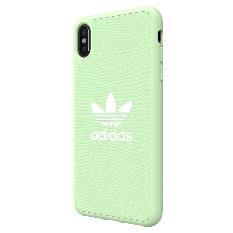 Adidas Moulded Case Canvas iPhone XS Max hoesje groen 04
