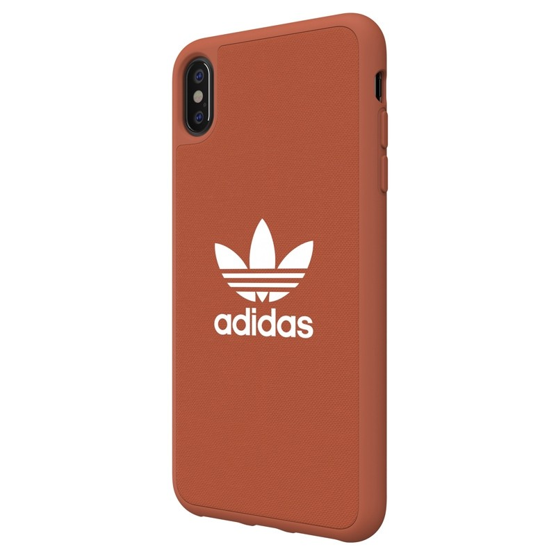 Adidas Moulded Case Canvas iPhone XS Max oranje 04