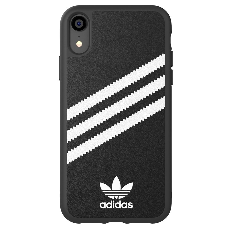 Adidas Moulded Case iPhone Xr zwart/wit 01