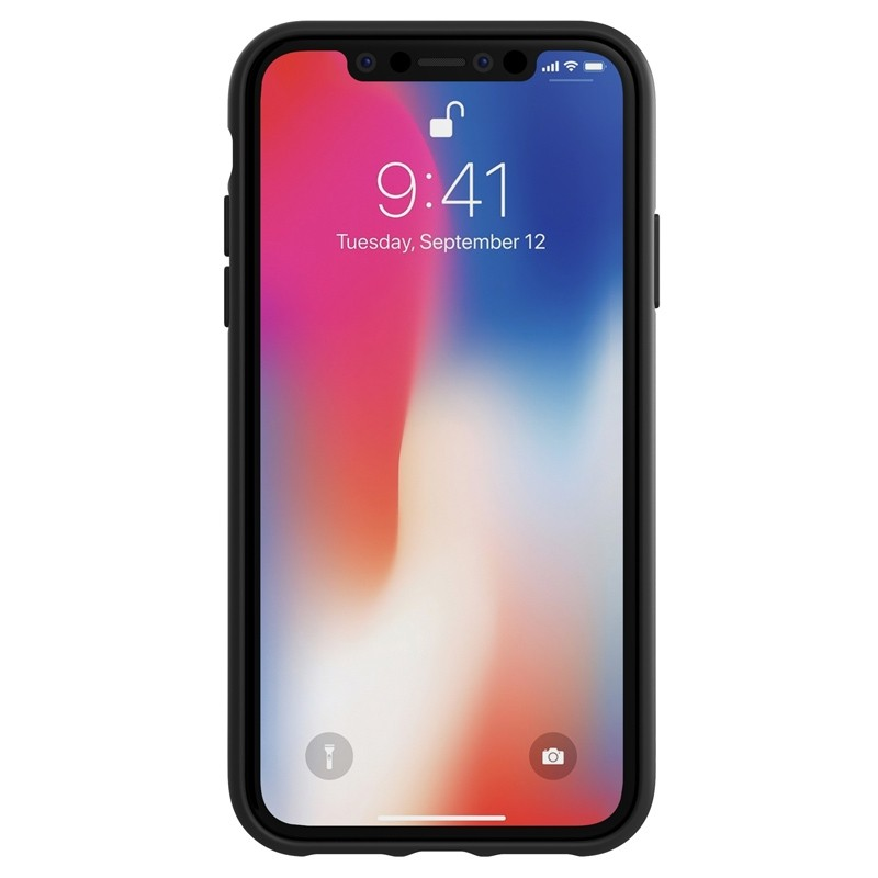 Adidas Moulded Case iPhone Xr zwart/wit 02