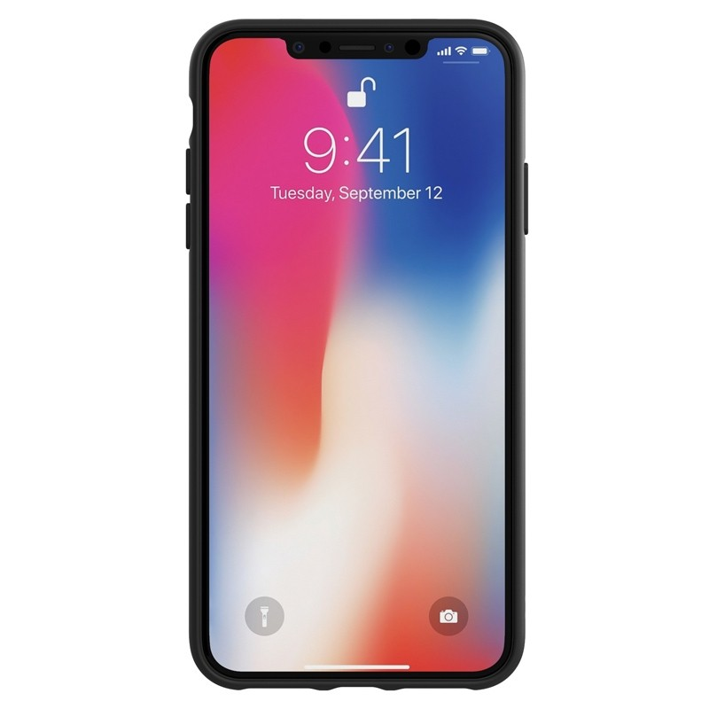 Adidas Moulded Case iPhone Xs Max wit/zwart 02