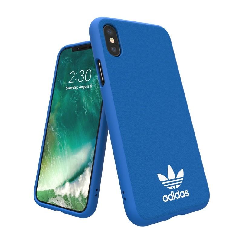 Adidas Originals Moulded iPhone X/Xs Hoesje Blauw - 3