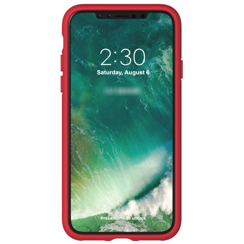 Adidas Originals Moulded iPhone X Case scarlet red 03