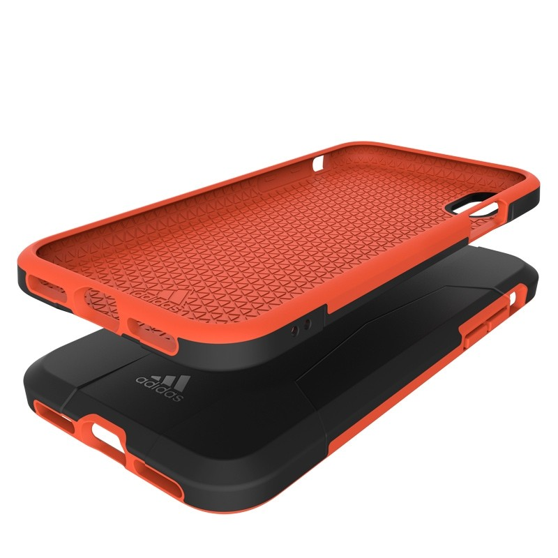 Adidas SP Solo Case iPhone X/Xs Black-Red 06