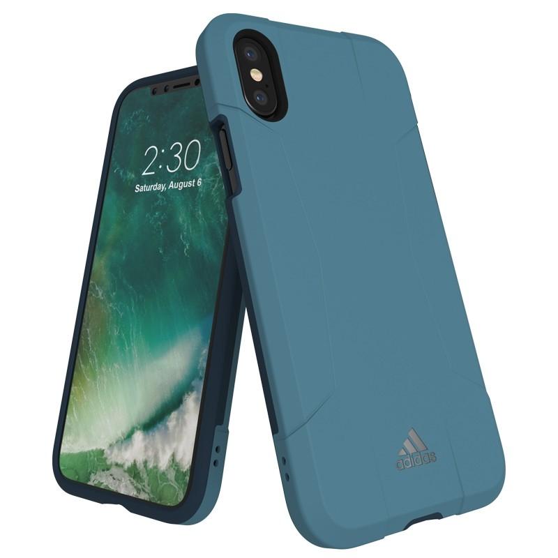 Adidas SP Solo Case iPhone X/Xs Core Blue 01