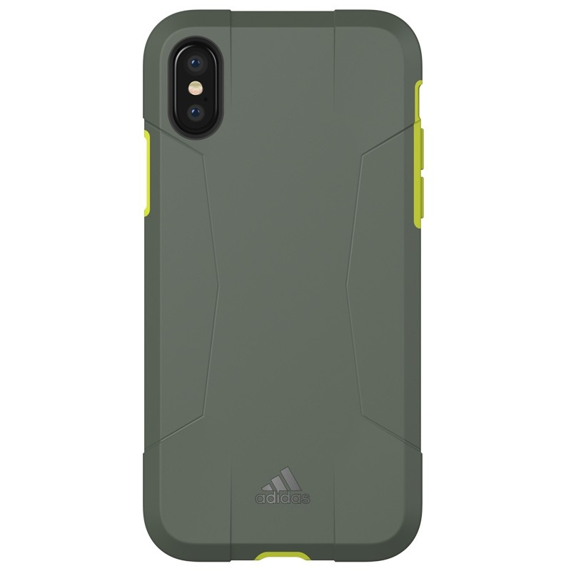Adidas SP Solo Case iPhone X/Xs Solar Yellow 02
