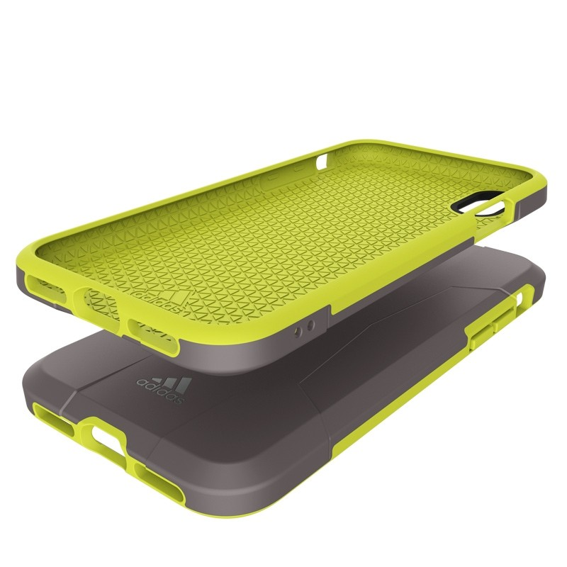 Adidas SP Solo Case iPhone X/Xs Solar Yellow 06