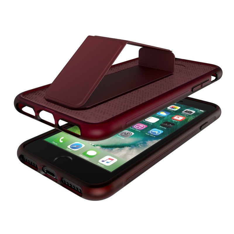 Adidas SP Grip Case iPhone 8/7/6S/6 Rood - 4