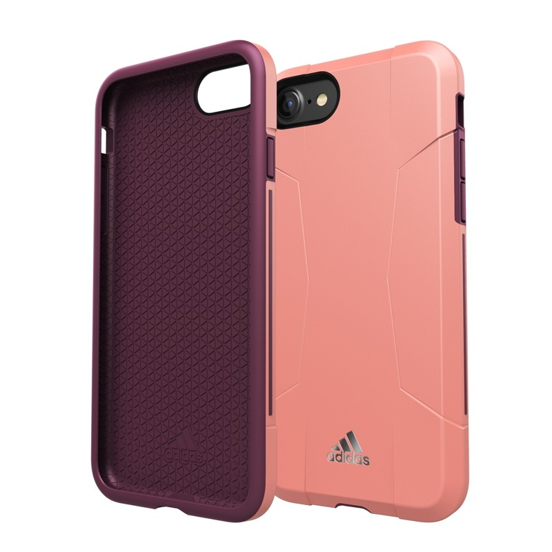 Adidas SP Solo Case iPhone 8/7/6S/6 Roze/Paars - 1