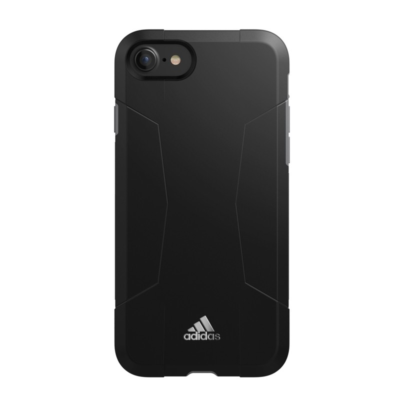 Adidas SP Solo Case iPhone 8/7/6S/6 Zwart/Grijs - 5