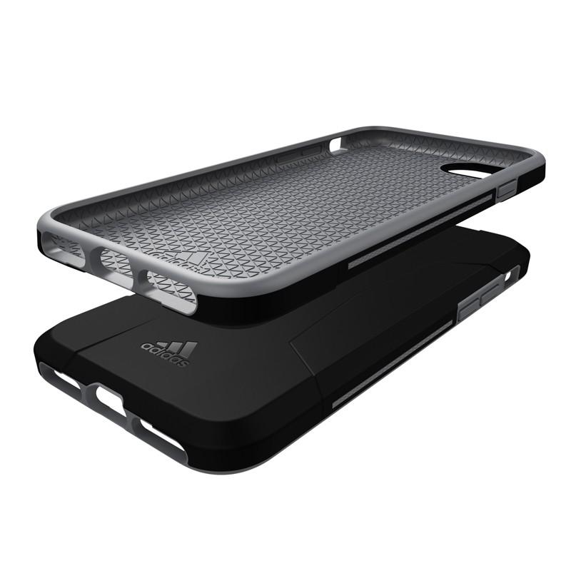 Adidas SP Solo Case iPhone 8/7/6S/6 Zwart/Grijs - 6