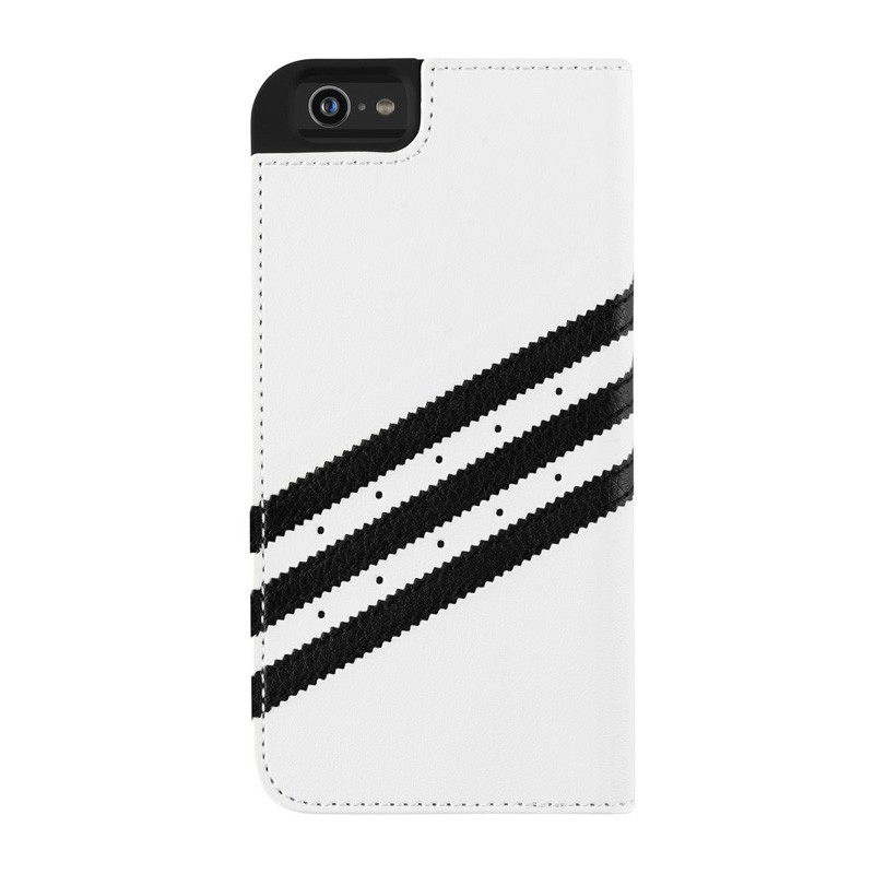 Adidas Booklet Case iPhone 6 White/Black - 2