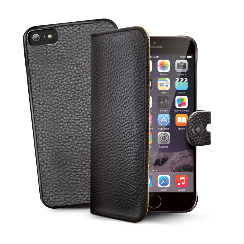 Celly Ambo 2-in-1 Wallet iPhone 6 Black - 1