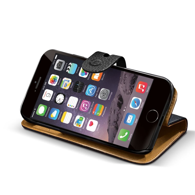 Celly Ambo 2-in-1 Wallet iPhone 6 Black - 2