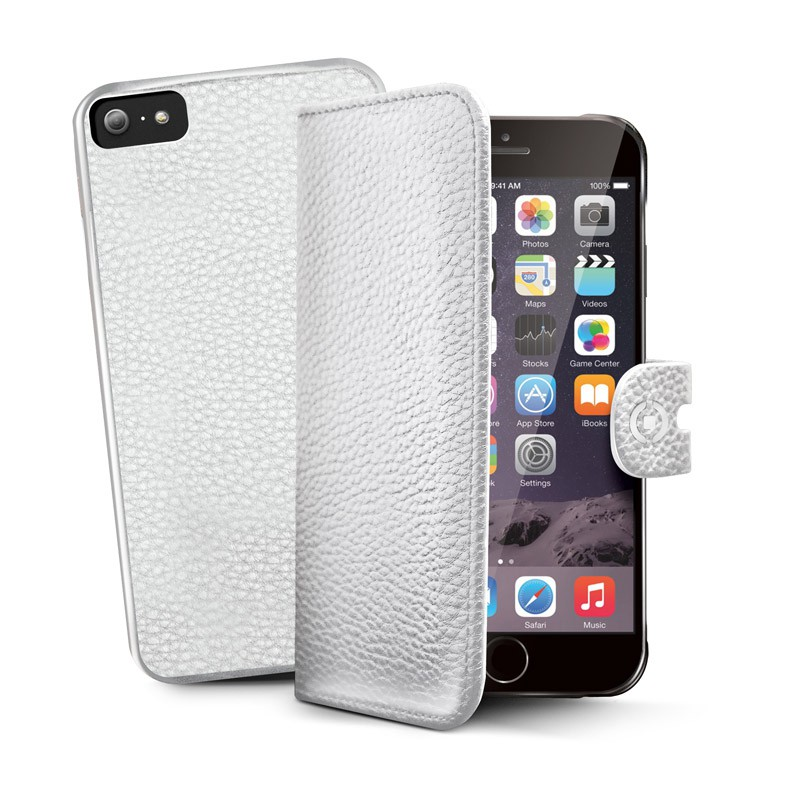 Celly Ambo 2-in-1 Wallet iPhone 6 White - 1