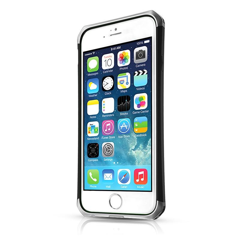Itskins – Nitro Forged Case iPhone 6 / 6S (black silver) 02