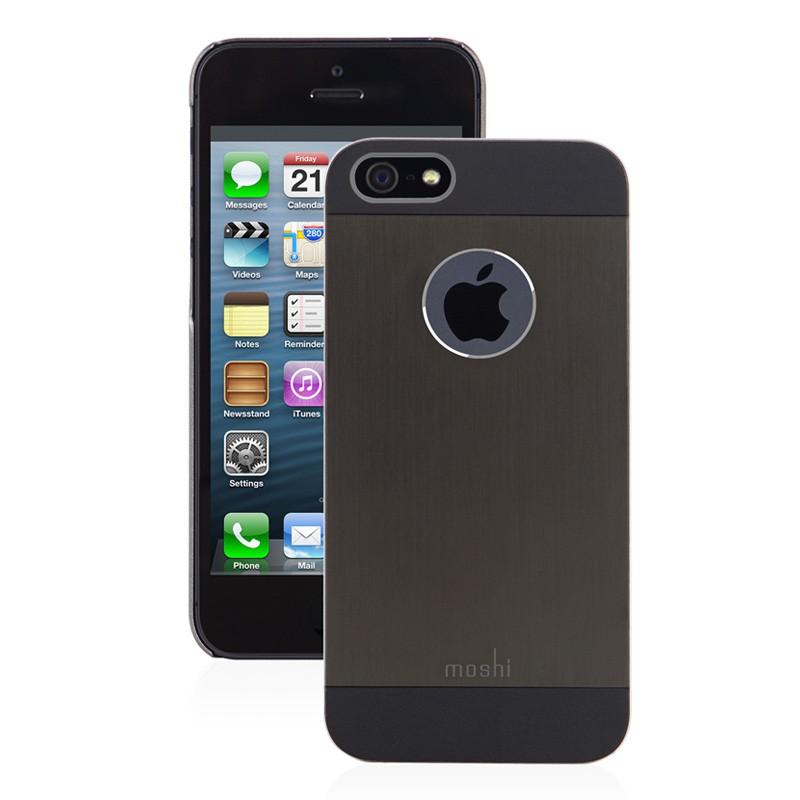 Moshi iGlaze Armour iPhone 5/5S/5C Black - 1