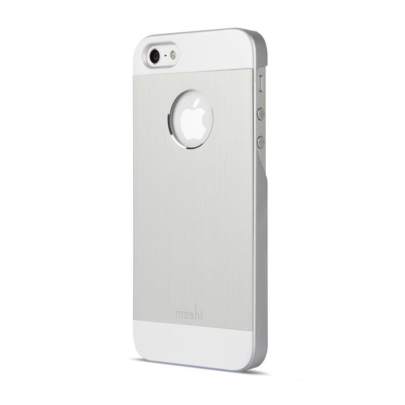Moshi iGlaze Armour iPhone 5/5S/5C Silver - 2