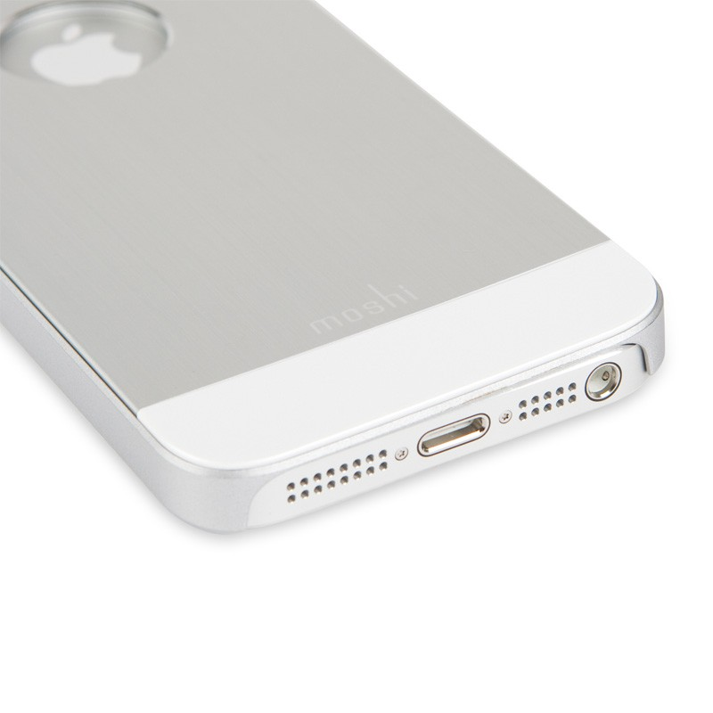 Moshi iGlaze Armour iPhone 5/5S/5C Silver - 3