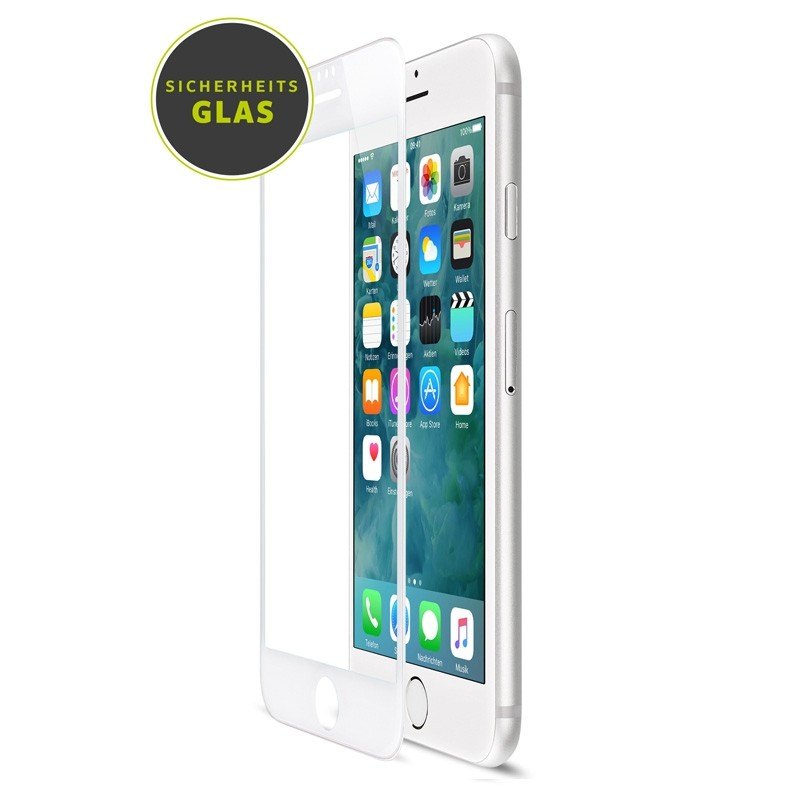 Artwizz Curved Display iPhone 8 Plkus/7 Plus/6S Plus/6 Plus Wit - 1