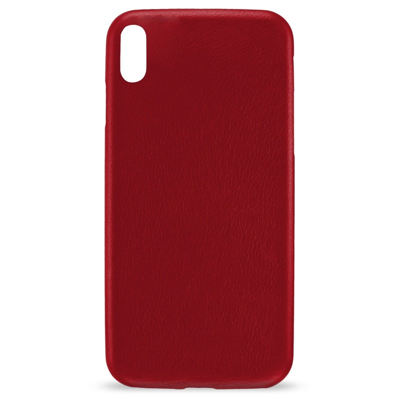 Artwizz Leather Clip iPhone X/Xs Red 02