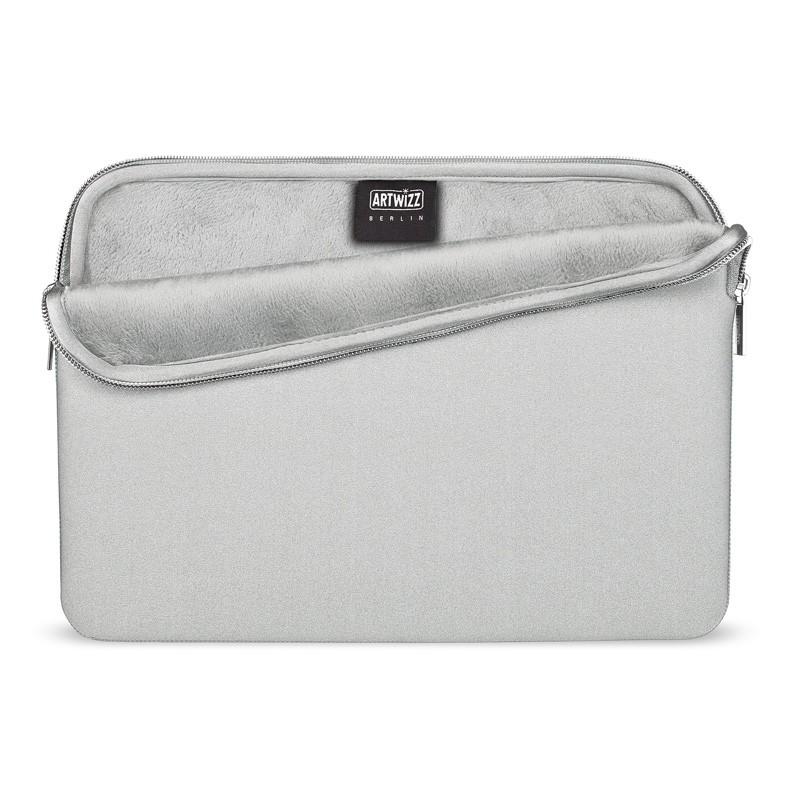 Artwizz Neoprene Sleeve MacBook 12 inch Zilver - 1