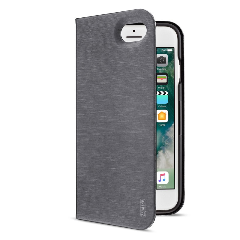 Artwizz - SeeJacket Folio iPhone 7 Titan 01