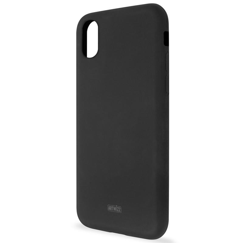 Artwizz SiliconeCase iPhone X Black 01