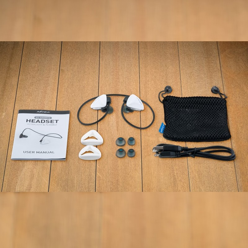 Avanca - D1 Sports Headset Wit 04