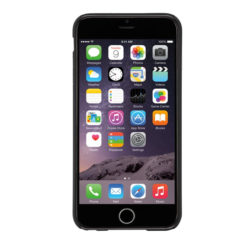 Case-Mate Barely There iPhone 6 Plus Black - 2