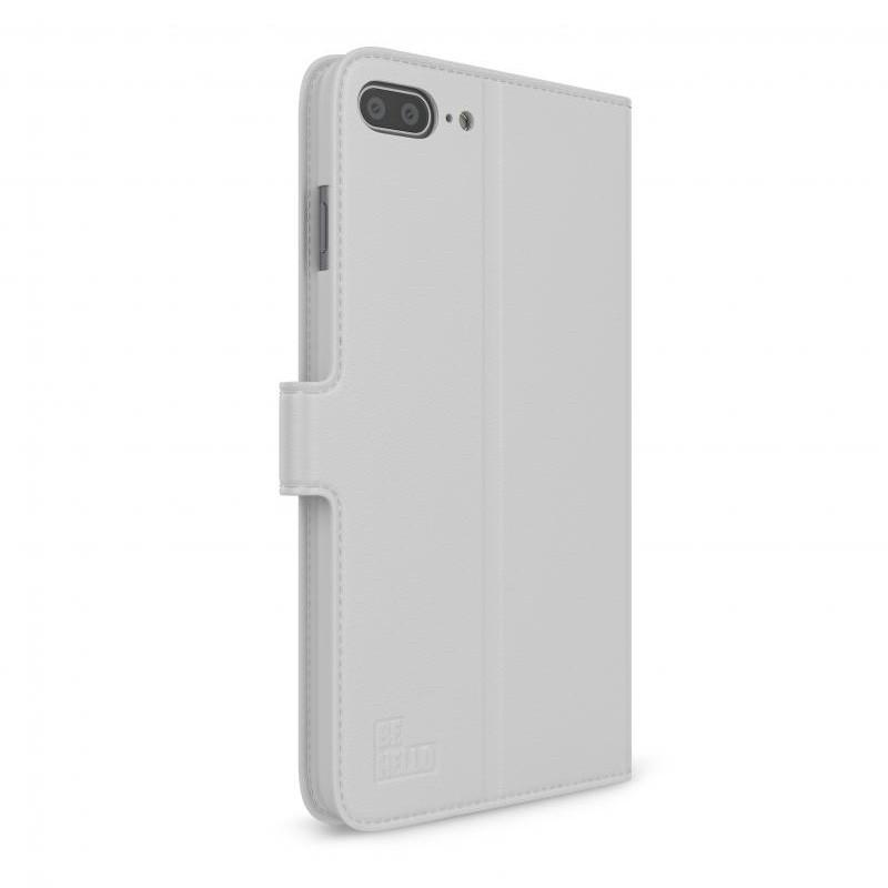 BeHello iPhone 8 Plus/7 Plus Portemonnee Hoesje Wit - 4