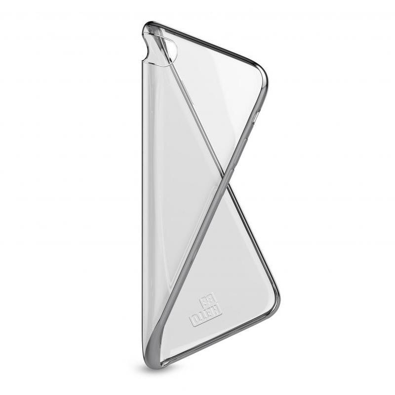BeHello Gel Case Chrome Edge iPhone 8/7/6S/6 Zilver - 4