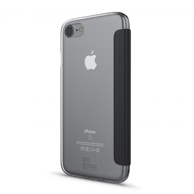 BeHello Clear Back Wallet Case iPhone 8/7/6S/6 Zwart - 2
