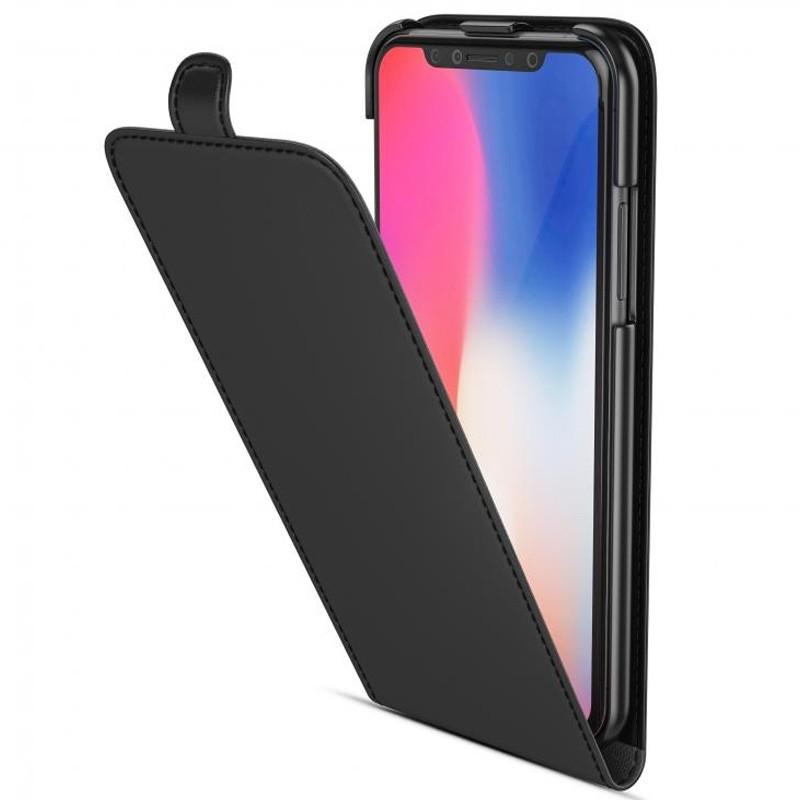 BeHello Flip Case iPhone X/Xs Zwart 01