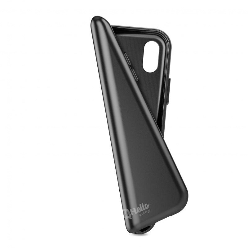 BeHello Gel Case iPhone X Hoesje Zwart 04