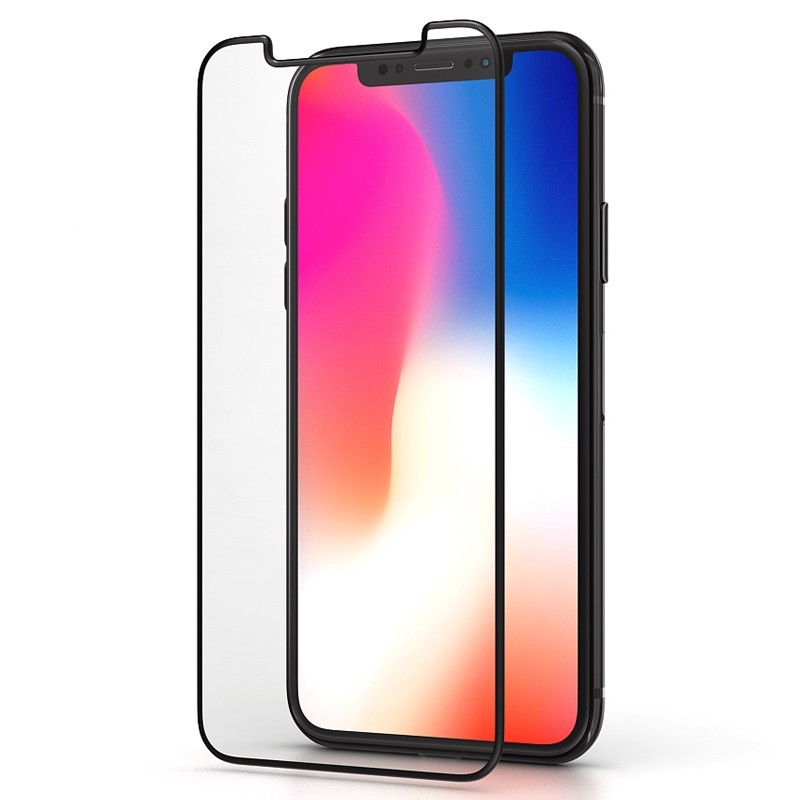 BeHello High Impact Glass Protector iPhone XS Max Clear 01