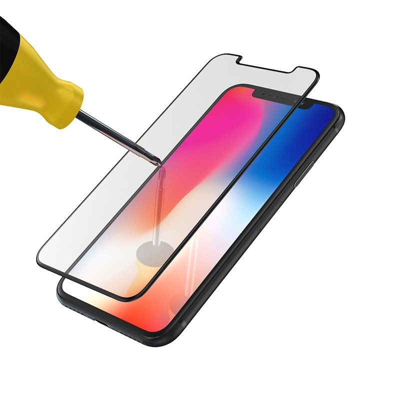 BeHello High Impact Glass Protector iPhone XS Max Clear 03