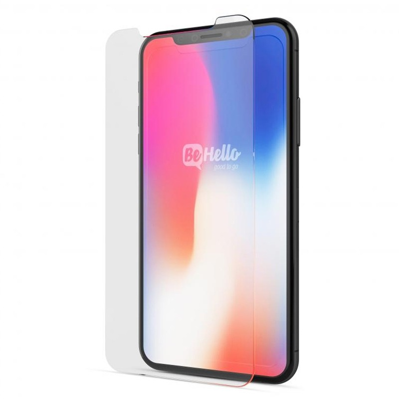BeHello High Impact Glass Screenprotector iPhone X 01