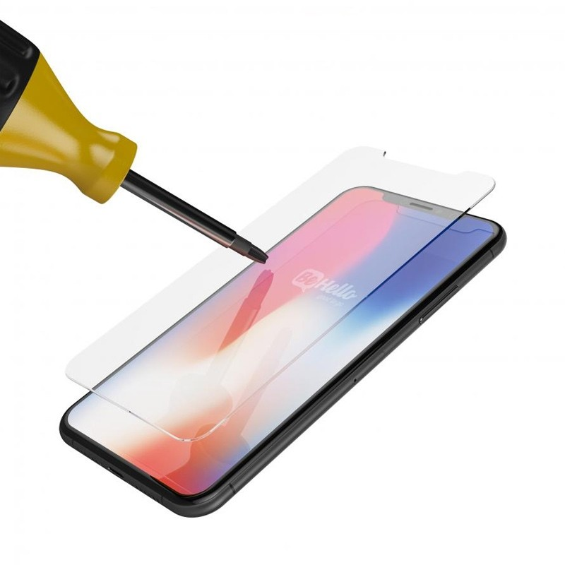 BeHello High Impact Glass Screenprotector iPhone X/Xs 02