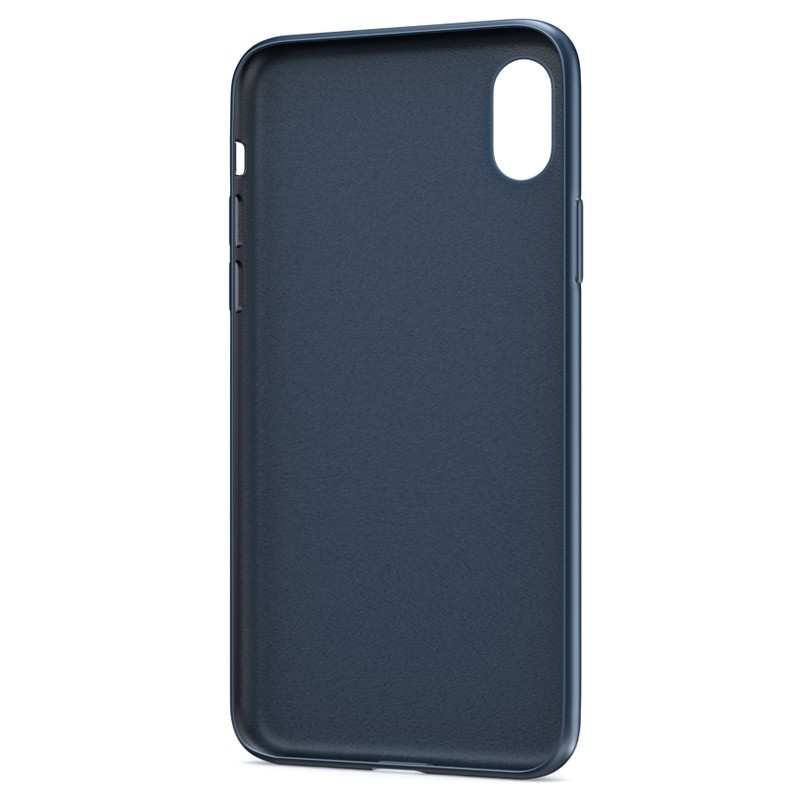 BeHello Liquid Silicon Case iPhone XR Blauw 03