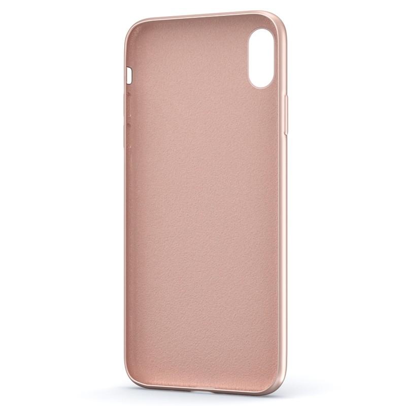 BeHello Liquid Silicon Case iPhone XS Max Roze 03