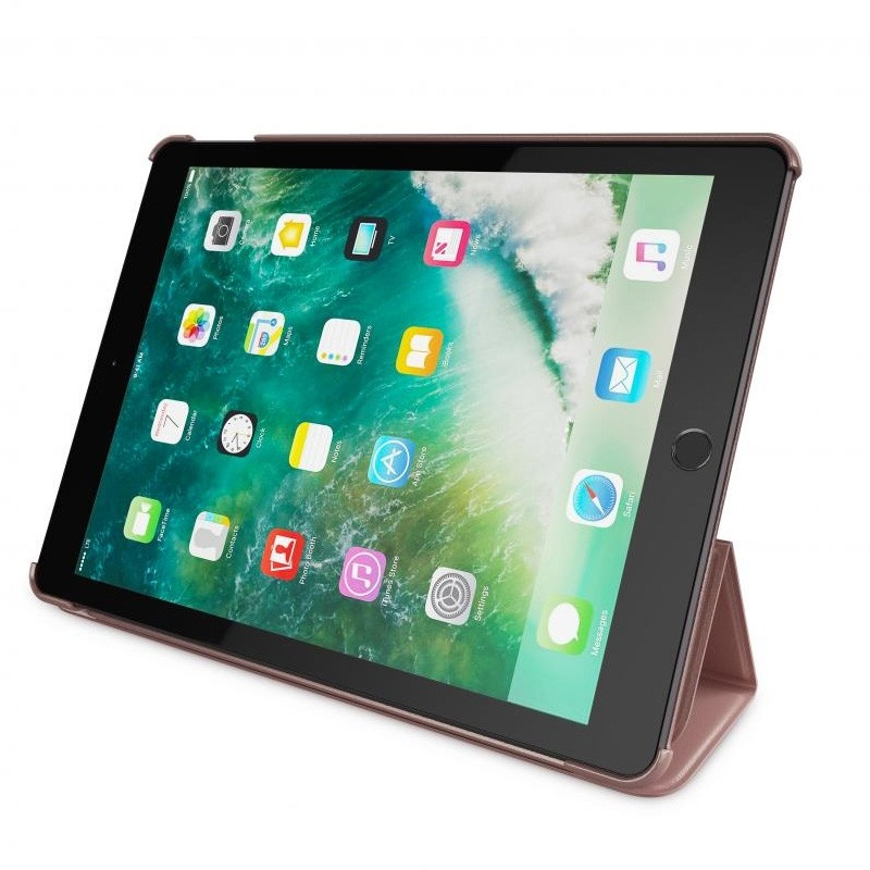 BeHello Smart Stand iPad 2017 Hoesje Rose Goud - 4