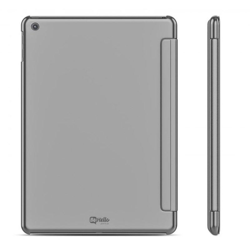 BeHello Smart Stand iPad 2017 Hoesje Zilver - 3